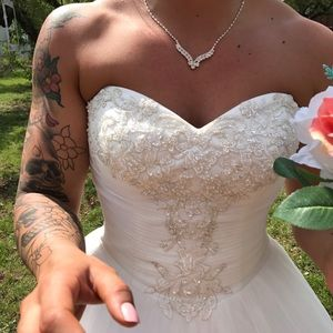 David's Bridal Dresses - Wedding dress!